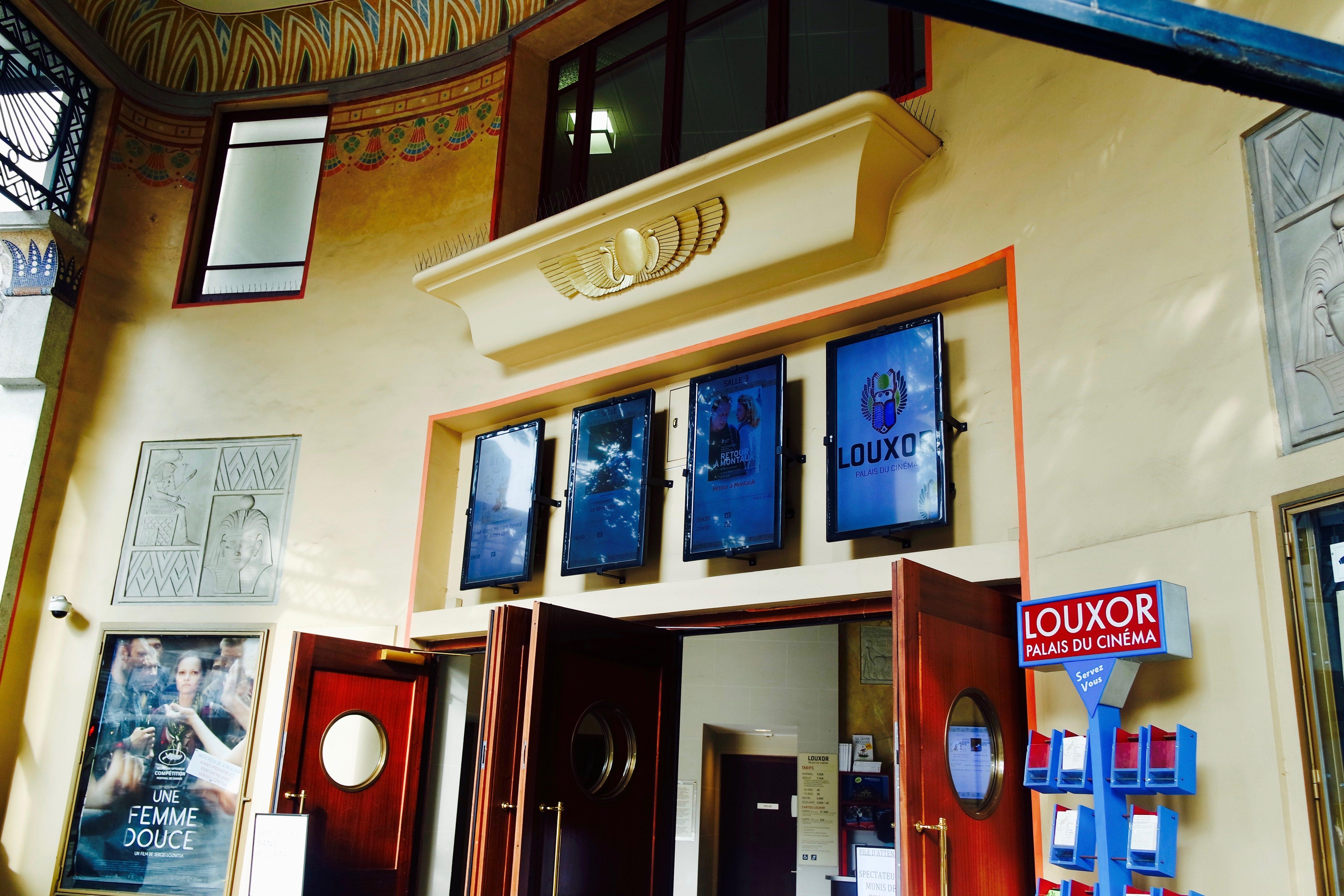 Le Louxor, temple de cinéma