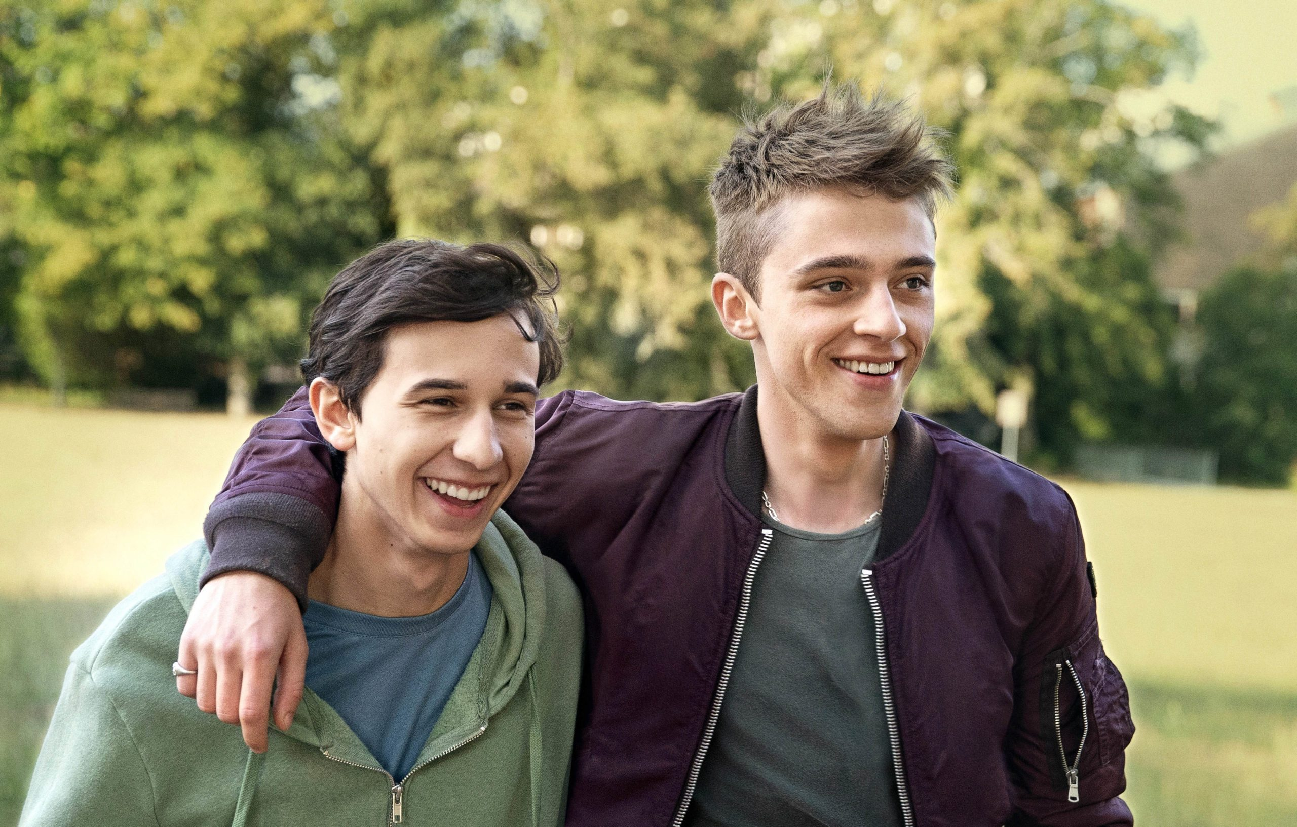 """Benjamin Parent et Benjamin Voisin (Un Vrai bonhomme) : """"On est parti de l'histoire d'un garçon qui a un grand frère grand, beau, fort et solaire"""""""