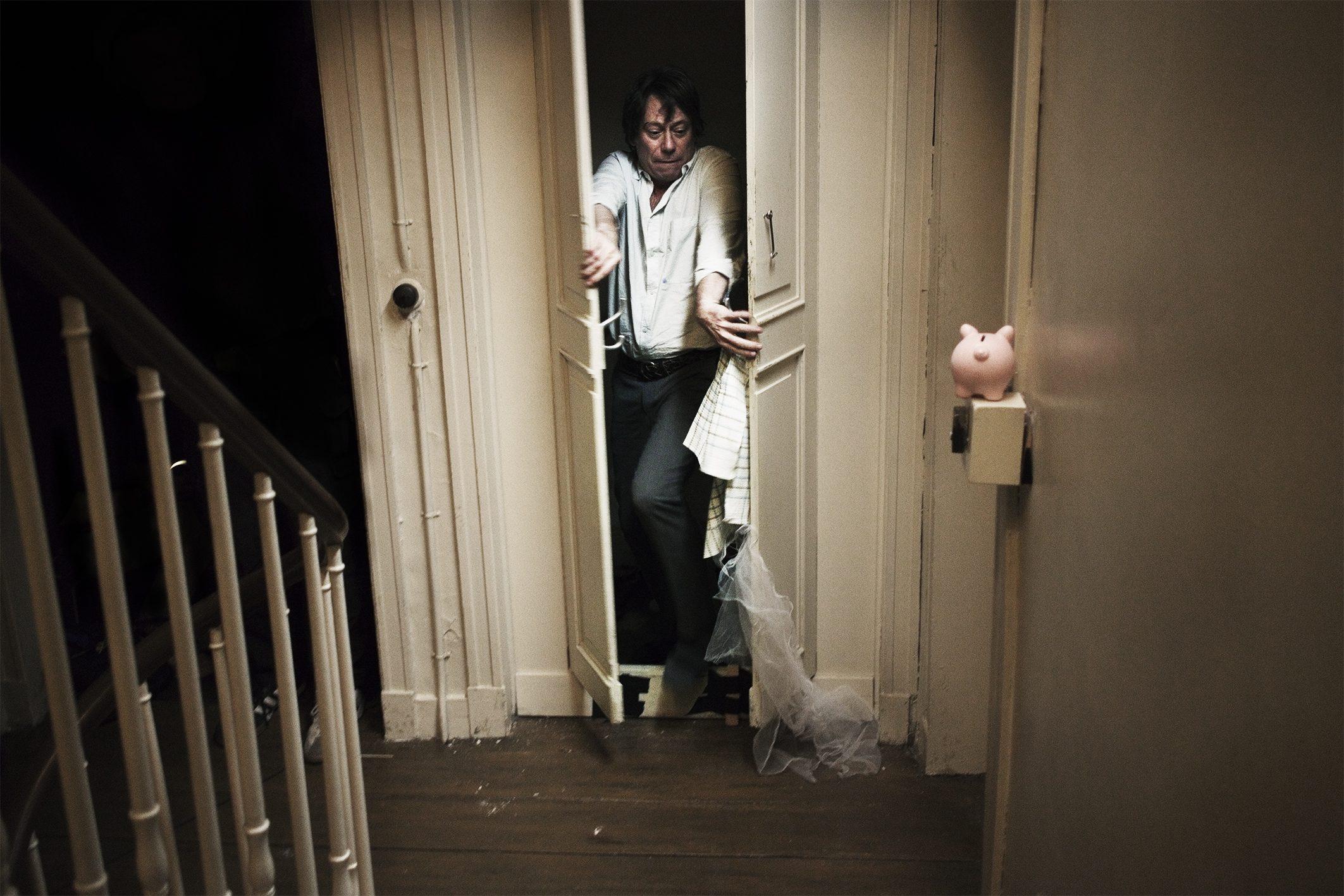 Mathieu Amalric dans L'Agent immobilier