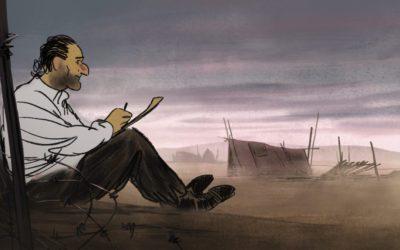 """Aurel (Josep) : """"Le film est comme l'agglomérat de toutes ces langues que l'on pouvait entendre dans les camps"""""""